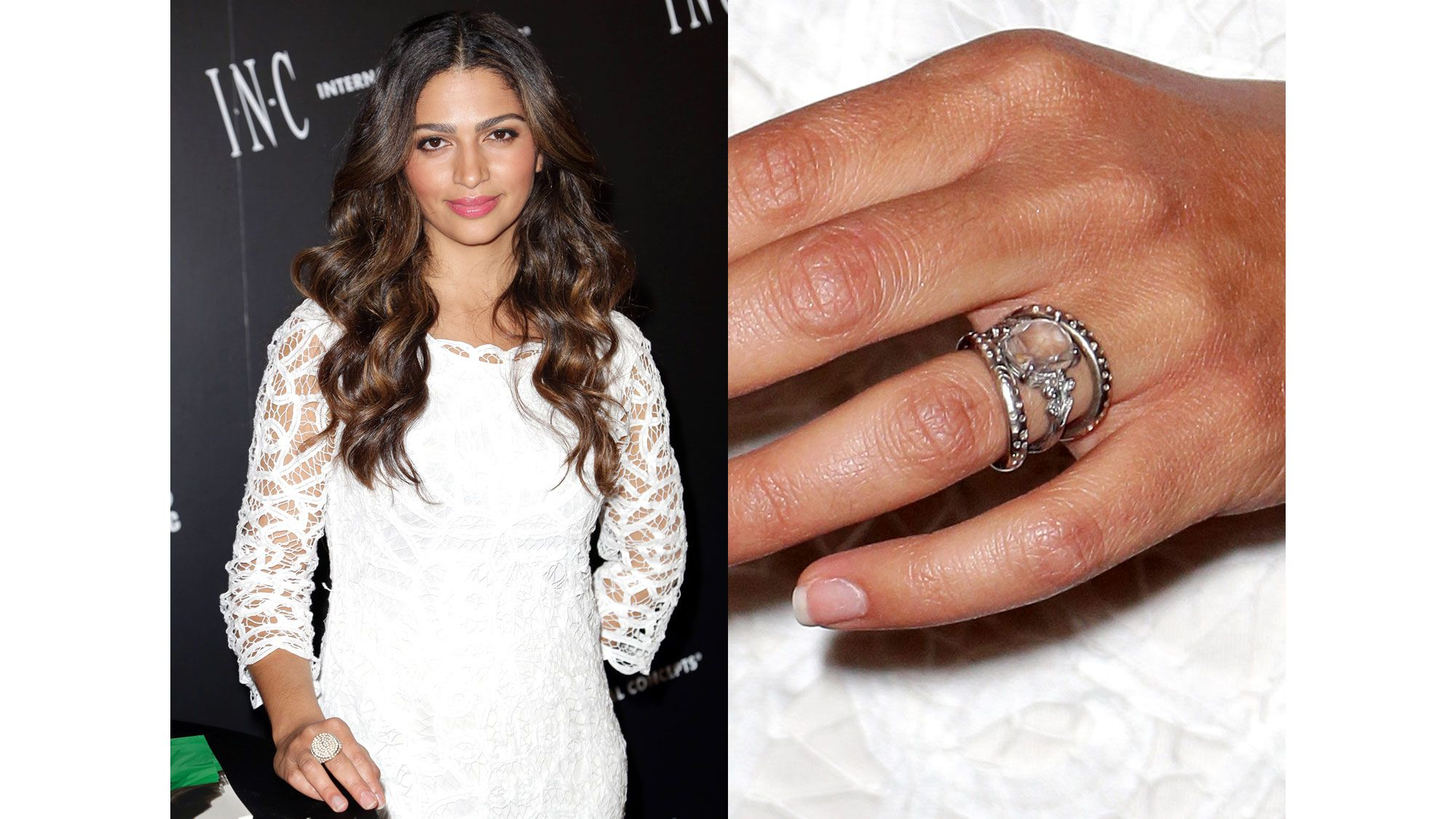 keven gorgeous pin halo menounos wedding undergaro s best the famous rings ring maria engagement celebrity