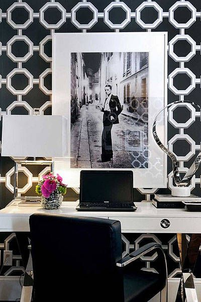 chic home office. chic home office