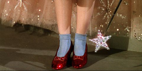 the wizard of oz shoes