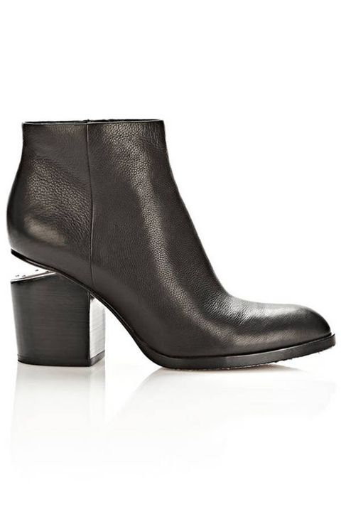 Shoe, Leather, Black, Beige, High heels, Material property, Boot, Synthetic rubber, Fashion design, Basic pump,