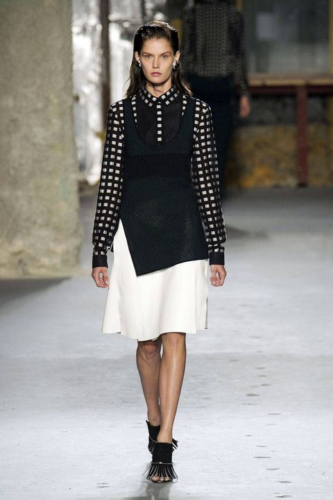 c820c25f8ca Pictured  Altuzarra Spring 2015. 2 of 66. image. imaxtree. Gingham Style