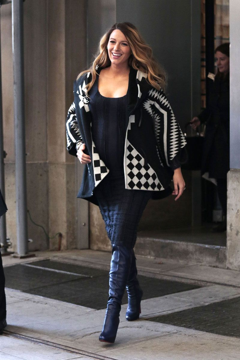 Celebrity Winter Maternity Fashion The Image Kid Has It