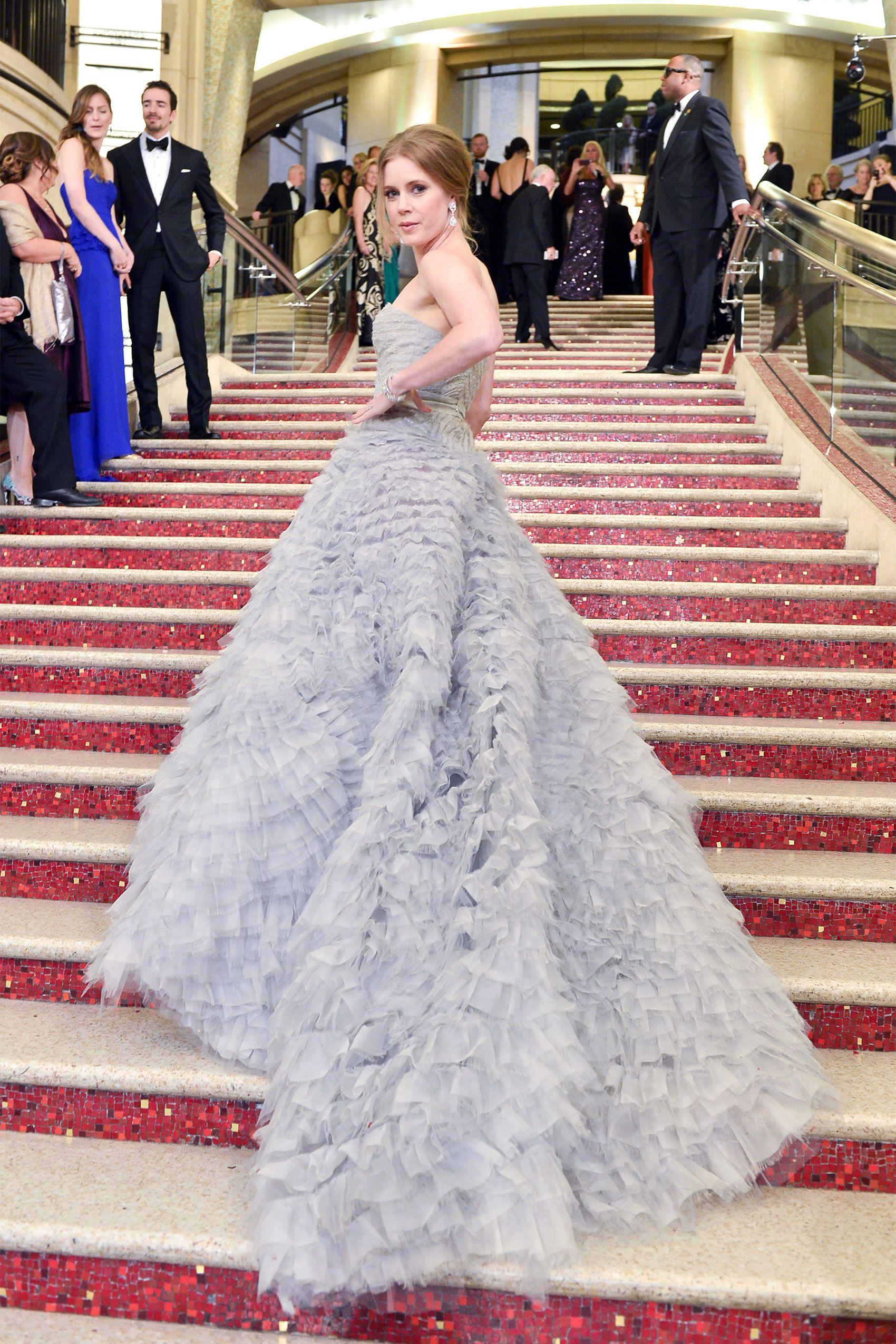 Oscar winning celebrity wedding dresses - Celebrities Wearing Oscar De La Renta Fashion Designer Oscar De La Renta Dies