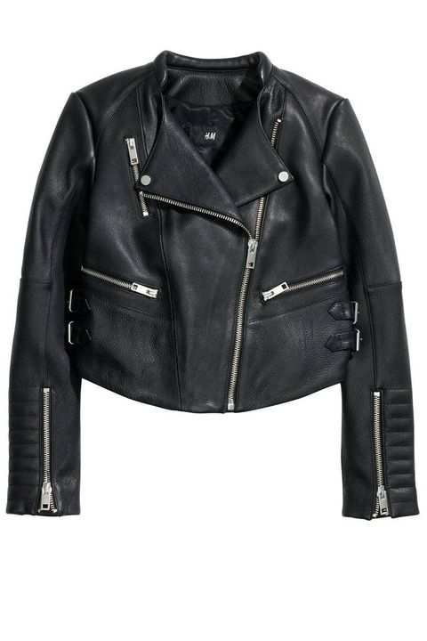 Product, Jacket, Sleeve, Textile, Outerwear, Collar, White, Leather, Fashion, Black,
