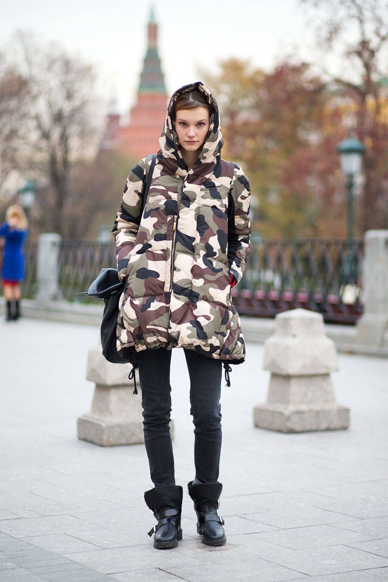 Street Style Coats - Coat Trends Fall 2014
