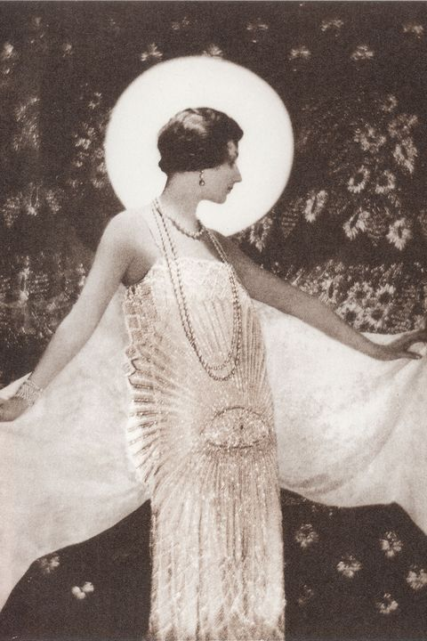 Photograph, Vintage clothing, Standing, Dress, Snapshot, Fashion, Retro style, Gown, Photography, Headgear,
