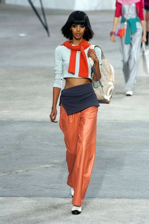 Clothing, Trousers, Bag, Textile, Joint, Style, Waist, Street fashion, Luggage and bags, Fashion,