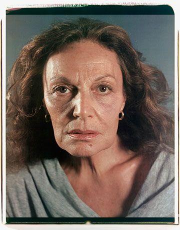 253e40762 Diane von Furstenberg Interview - Chuck Close Portrait of Diane Von ...