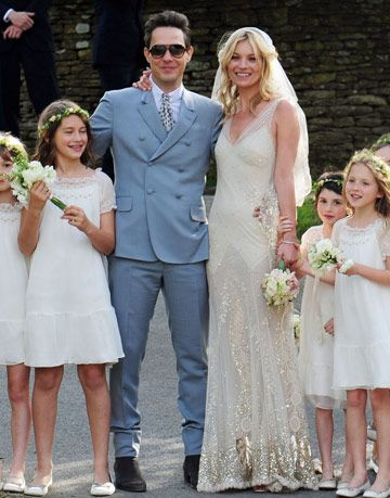 Kate Moss Wedding Pictures - Photos of Kate Moss\'s Wedding Dress