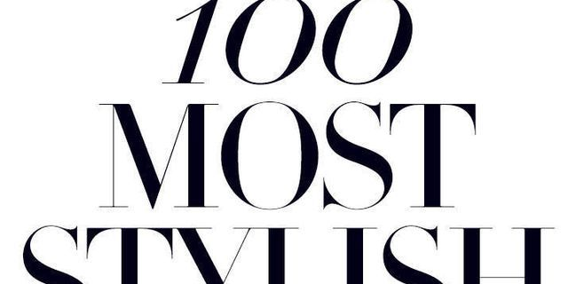 The 100 Most Stylish of 2014