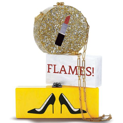 Font, Costume accessory, High heels, Circuit component, Label, Glitter, Basic pump, Court shoe,