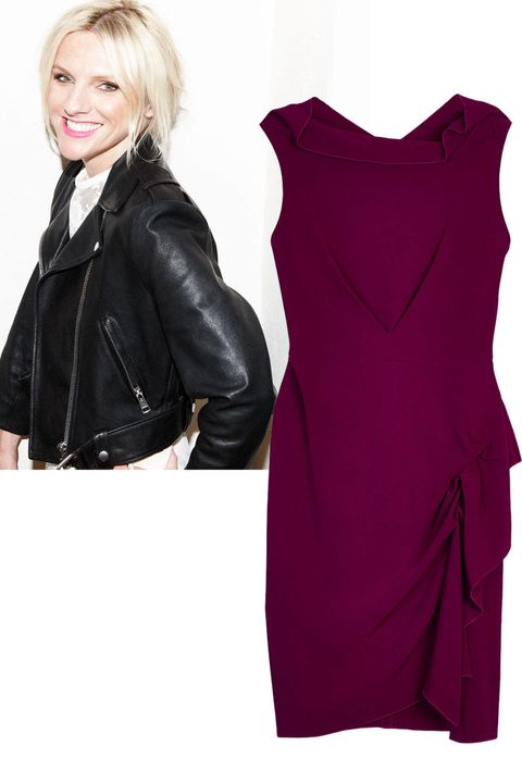 Clothing, Sleeve, Jacket, Textile, Collar, Dress, Fashion, Black, Leather jacket, Maroon,