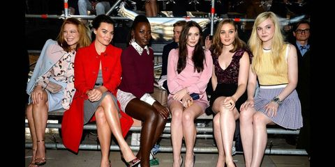 Best Seats: Rihanna Front Row at Lanvin & More