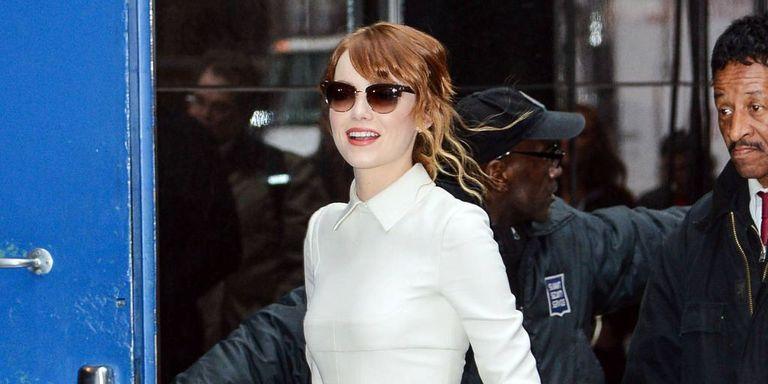 """Emma Stone's Amazing """"Spider-Man"""" Style"""