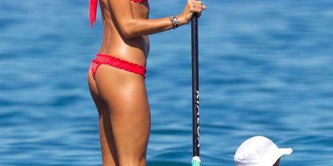 Beach Chic: Stars in Swim's Best Trends
