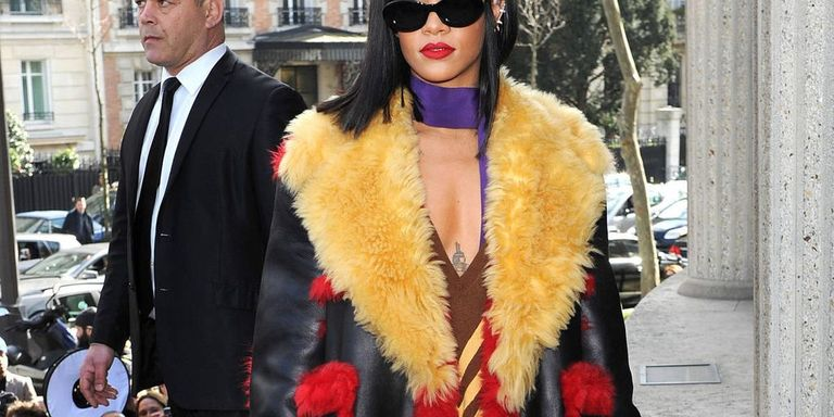 Rihanna Reigns in Paris: See All the Looks