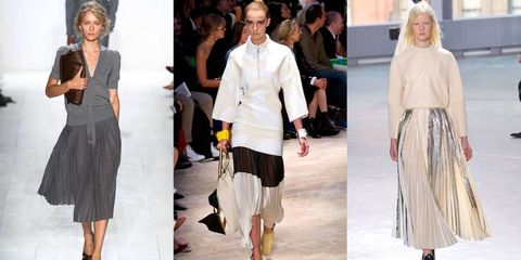 In the Fold: Shop 10 Pleated Skirts