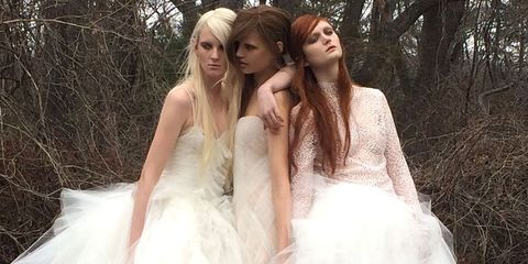 Behind the Scenes with Vera Wang's Spring 2015 Bridal Collection