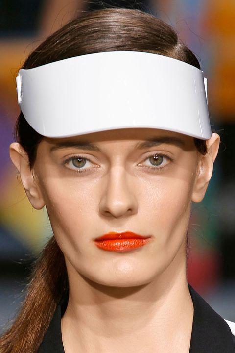 Lip, Brown, Skin, Chin, Forehead, Eyebrow, White, Eyelash, Style, Headgear,