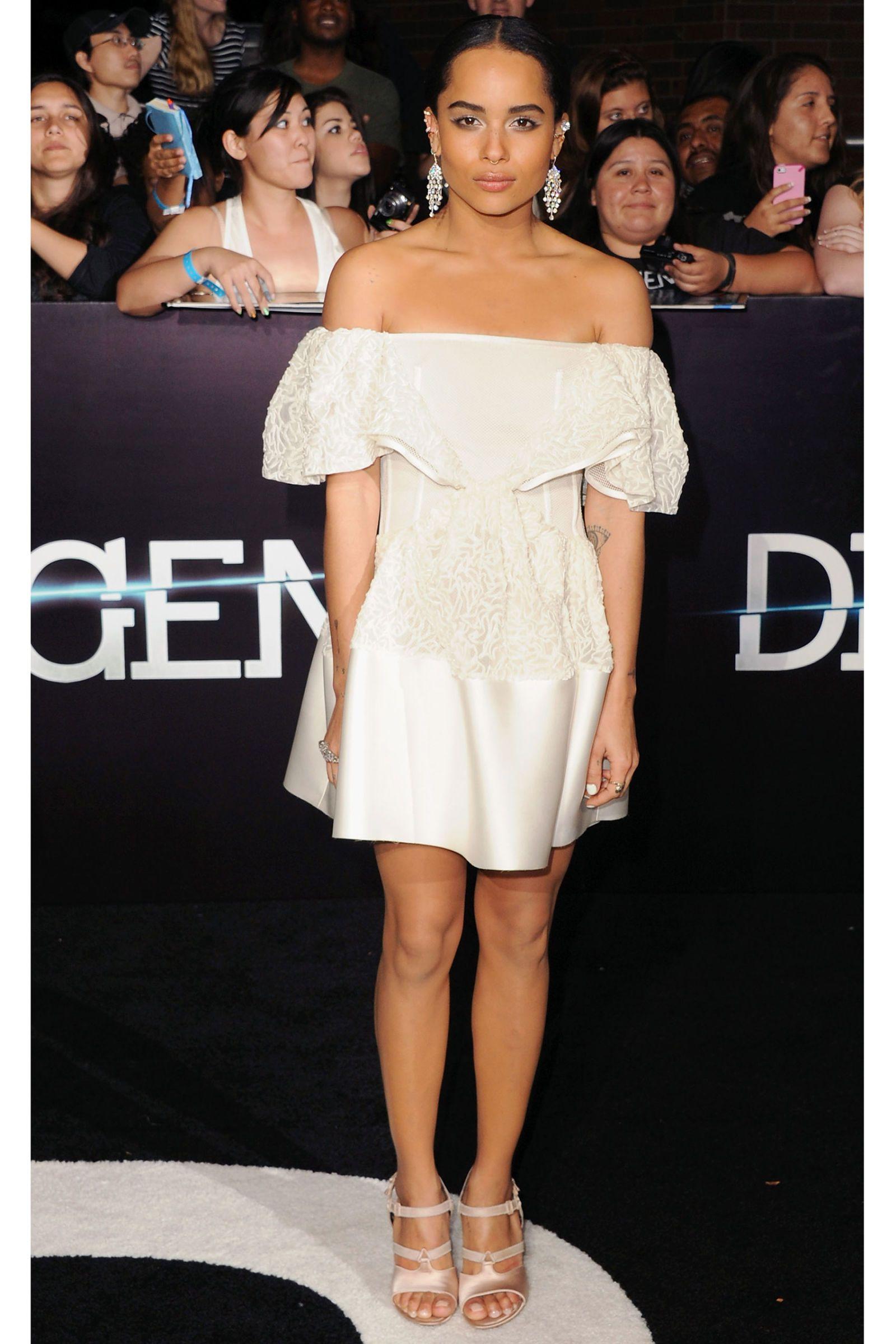 Little White Dresses 2014 The Best Celebrity Jolie Clothing Jamie Long Dress