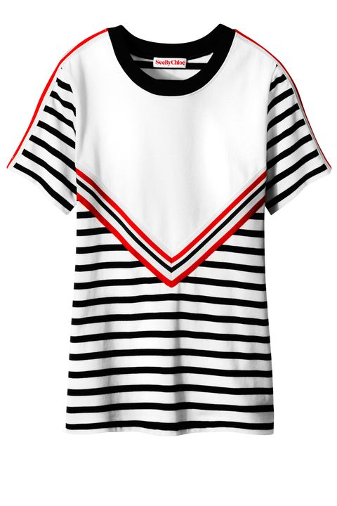 Product, Sleeve, Shoulder, Text, Red, White, Style, Line, Font, Carmine,