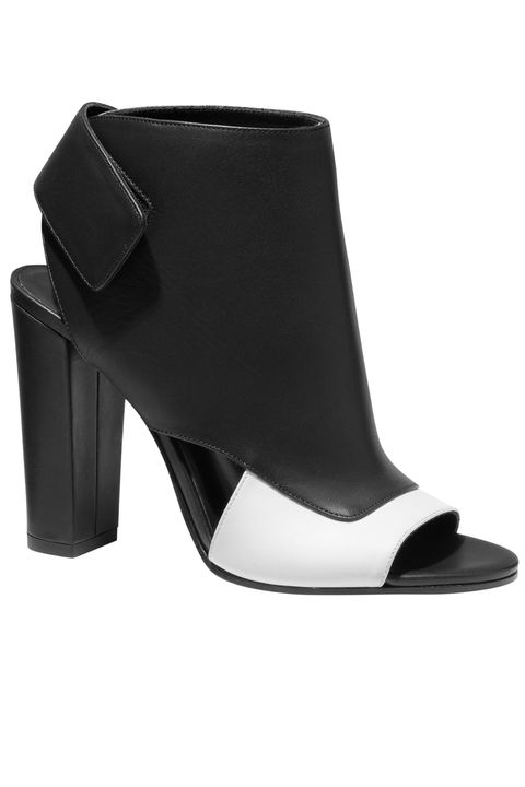 Footwear, Leather, Fashion, Black, Grey, Boot, Beige, Material property, High heels, Synthetic rubber,