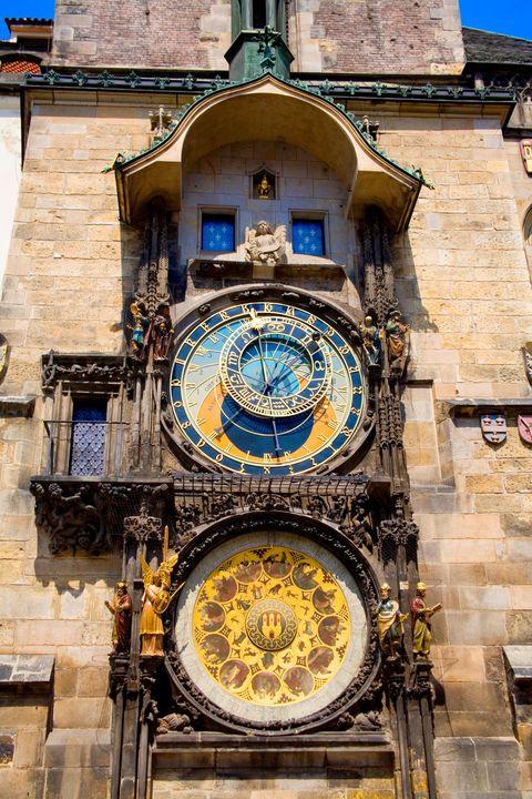 Clock tower, Clock, Wall clock, Symmetry, Brick, Brickwork,
