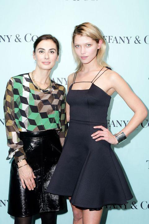 Francesca Amfitheatrof and Hana Jirickova