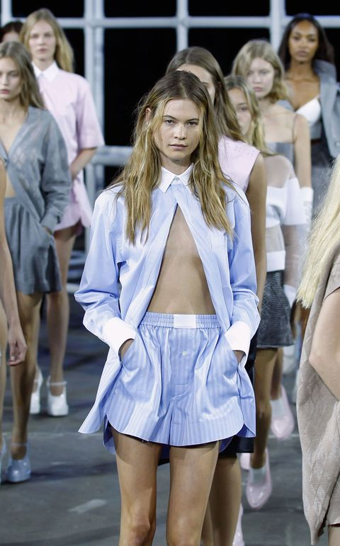 Leg, Sleeve, Human body, Textile, Human leg, Fashion show, Style, Street fashion, Fashion model, Thigh,