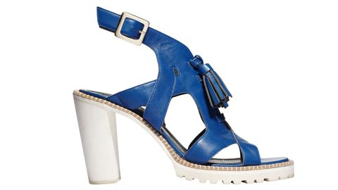 Footwear, Blue, Product, Brown, Shoe, White, High heels, Electric blue, Fashion, Azure,
