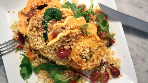 Food, Ingredient, Cuisine, Recipe, Dish, Garnish, Dishware, Leaf vegetable, Plate, Meat,