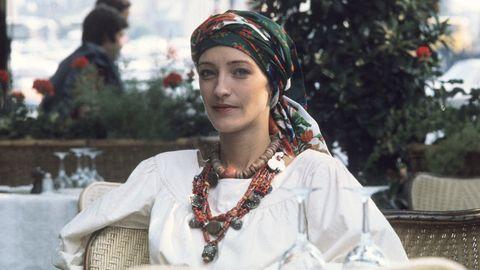 Fashion accessory, Pattern, Headgear, Jewellery, Tradition, Street fashion, Necklace, Costume, Portrait photography, Embellishment,
