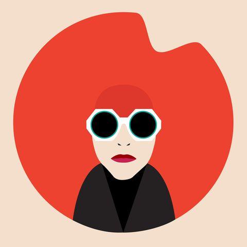 Lip, Red, Goggles, Colorfulness, Carmine, Sunglasses, Graphics, Coquelicot, Clip art,