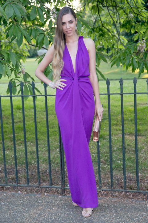 Clothing, Green, Magenta, Purple, Style, Formal wear, Pink, Street fashion, Violet, Lavender,