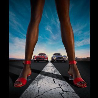 Human leg, Muscle, Calf, Luxury vehicle, Foot, Ankle,