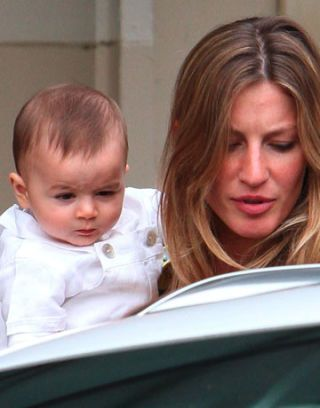 gisele bundchen and her baby