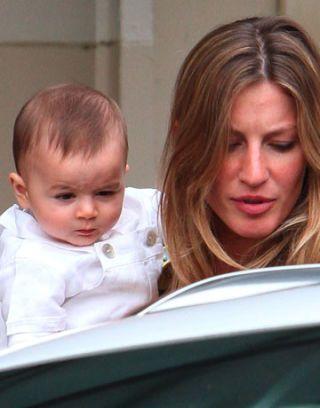 gisele bundchen and her baby
