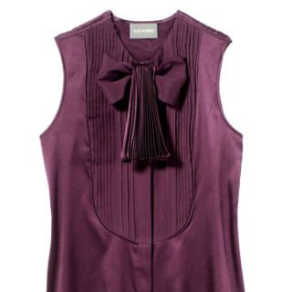 purple zac posen shirt