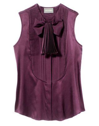 purple zac posen shirt