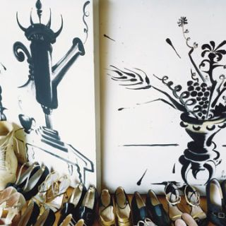 isabel toledos collection of manolo blahniks and vintage favorites
