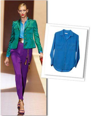 Sleeve, Collar, Textile, Style, Electric blue, Purple, Fashion, Clothes hanger, Cobalt blue, Blazer,