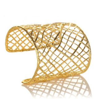 alexis bittar gold cuff