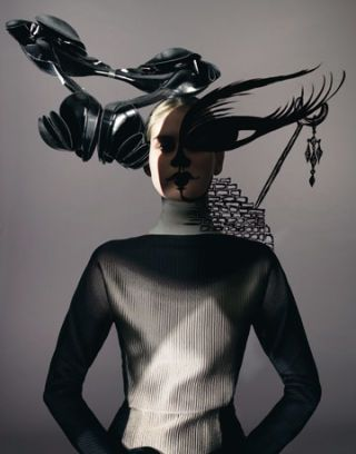 dali-inspired fashion shoot