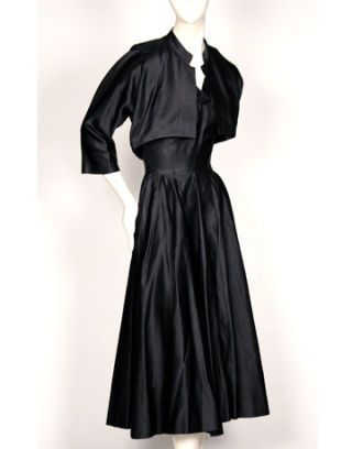 valentina dress, late 40s