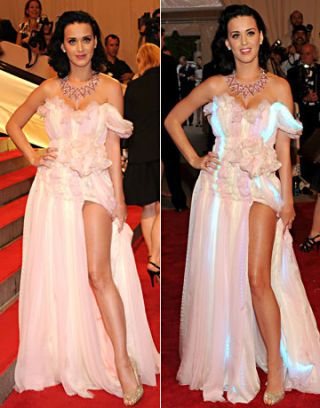 katy perry led dress