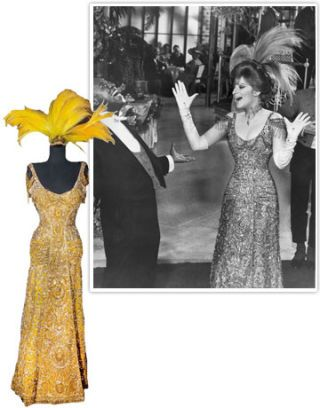 barbra streisand gown from hello dolly