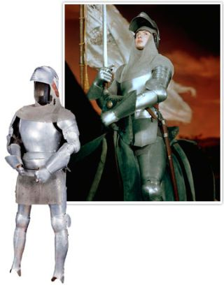 ingrid bergman costume from joan of arc