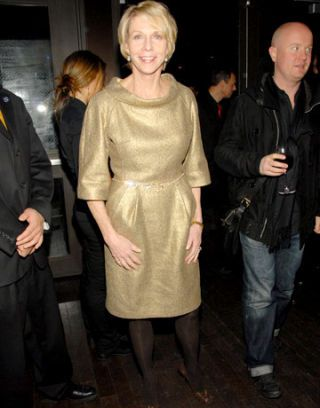 cathie black at the highline ballroom celebrating harpers bazaar 140th anniversary party