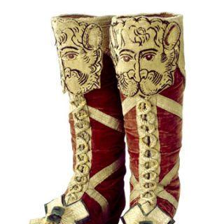 coronation herald's boots
