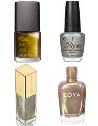 shiny metallics nail polish